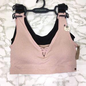 Lucky brand seamless sports bra